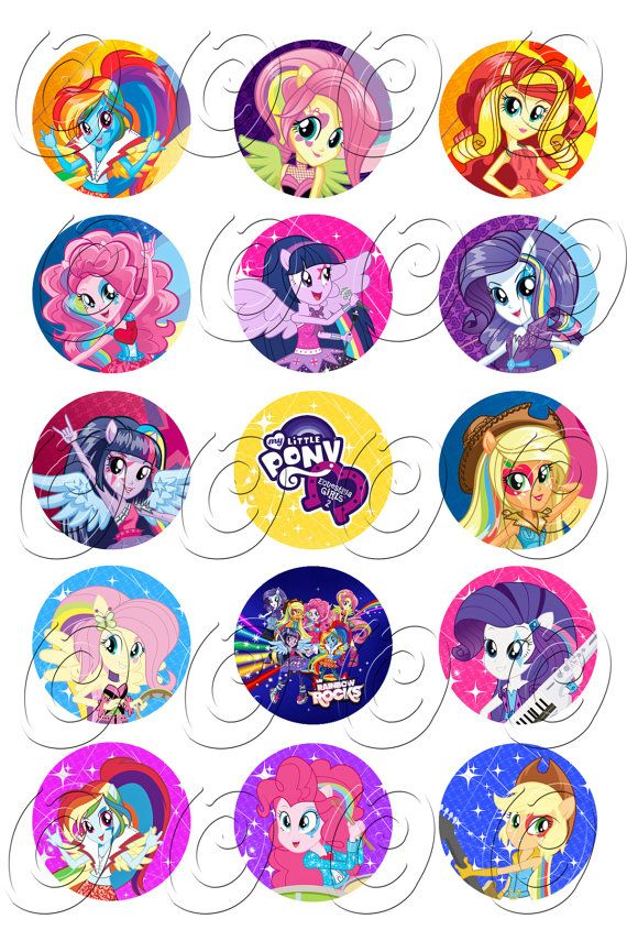 etiquetas My Little Pony