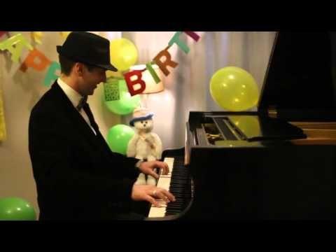 Happy Birthday! - Jazzy Piano Arrangement by Jonny May - YouTube
