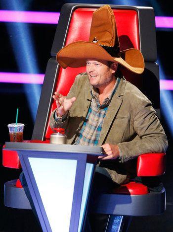 The Voice, Season 7 (2014):  Blake Sheldon rocking the William's vibe!
