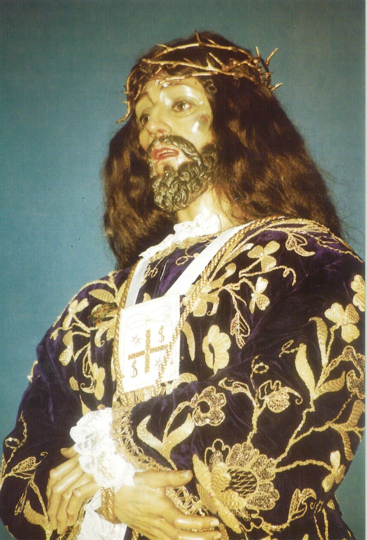 Semana Santa 1998 Esclavitud de Nuestro Padre Jesús Nazareno (De Medinaceli) Fotografía de Luis Miguel Caballero distribuida en la carpeta editada por la Junta de Cofradías en la Semana Santa de 1998 #SemanaSanta #Cuenca #EsclavitudJesusMedinaceli