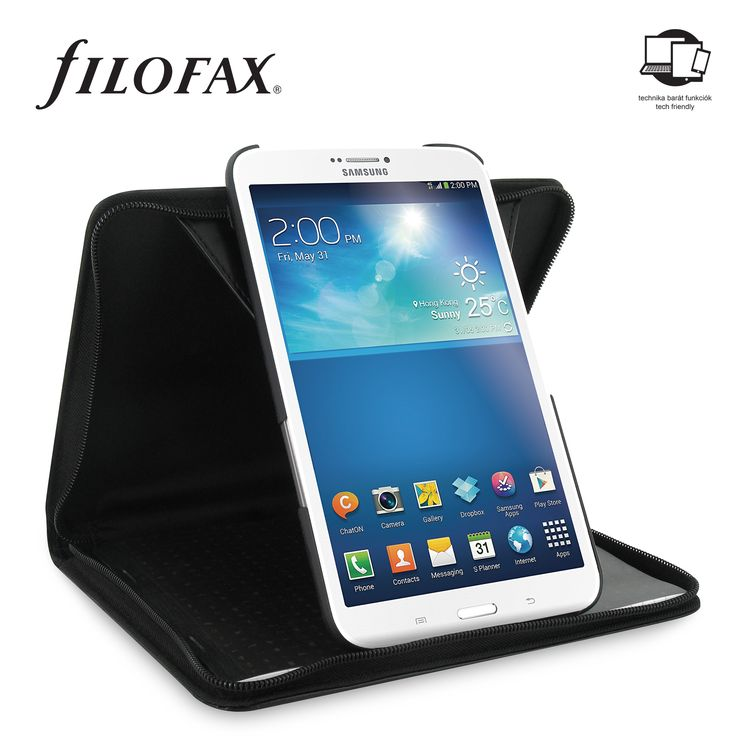 Filofax Tablet case Metropol Galaxy Tab 3 8.0 Black
