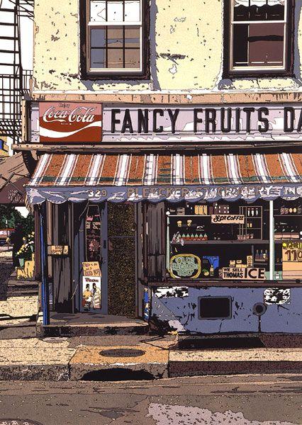 鈴木英人「FANCY FRUITS DAIRY」