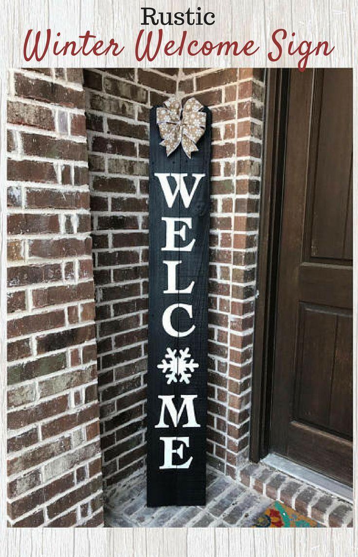 25 Unique Front Porch Signs Ideas On Pinterest Welcome