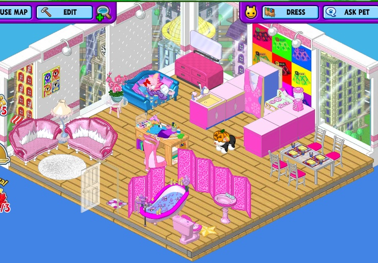 16 Best Images About Webkinz Rooms On Pinterest Studio