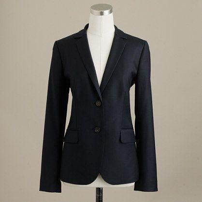 Petite 1035 jacket in Super 120s