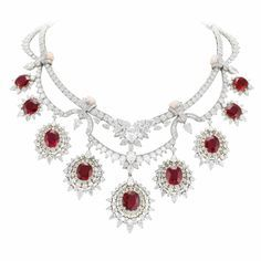 Treasure of Rubies Necklace by Van Cleef & Arpels I'll have to save up for my daughter's birthday, rubies are her birthstone!