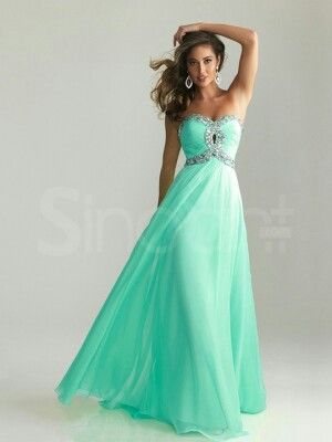 17  images about Cute prom dresses! on Pinterest - Chiffon evening ...