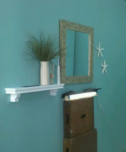 ocean blue paint for bathroom. ocean theme bathroom set for infomercial blue paint l
