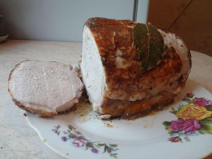 Томлёное мясо, вместо колбасы