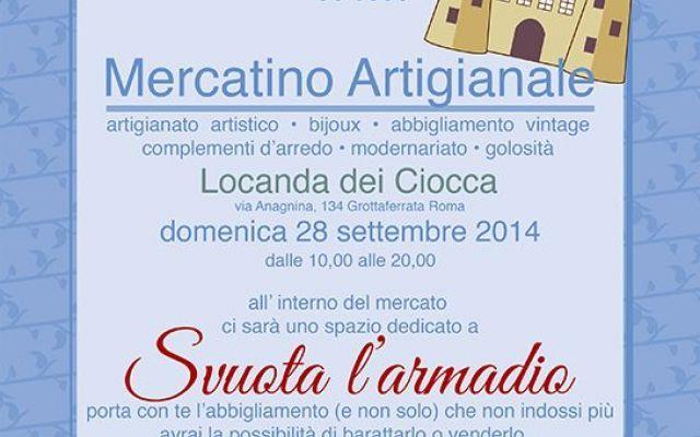 Castelli in Aria a Grottaferrata: domenica 28 settembre torna il mercatino artigianale #grottaferrata #mercatini #artigianato