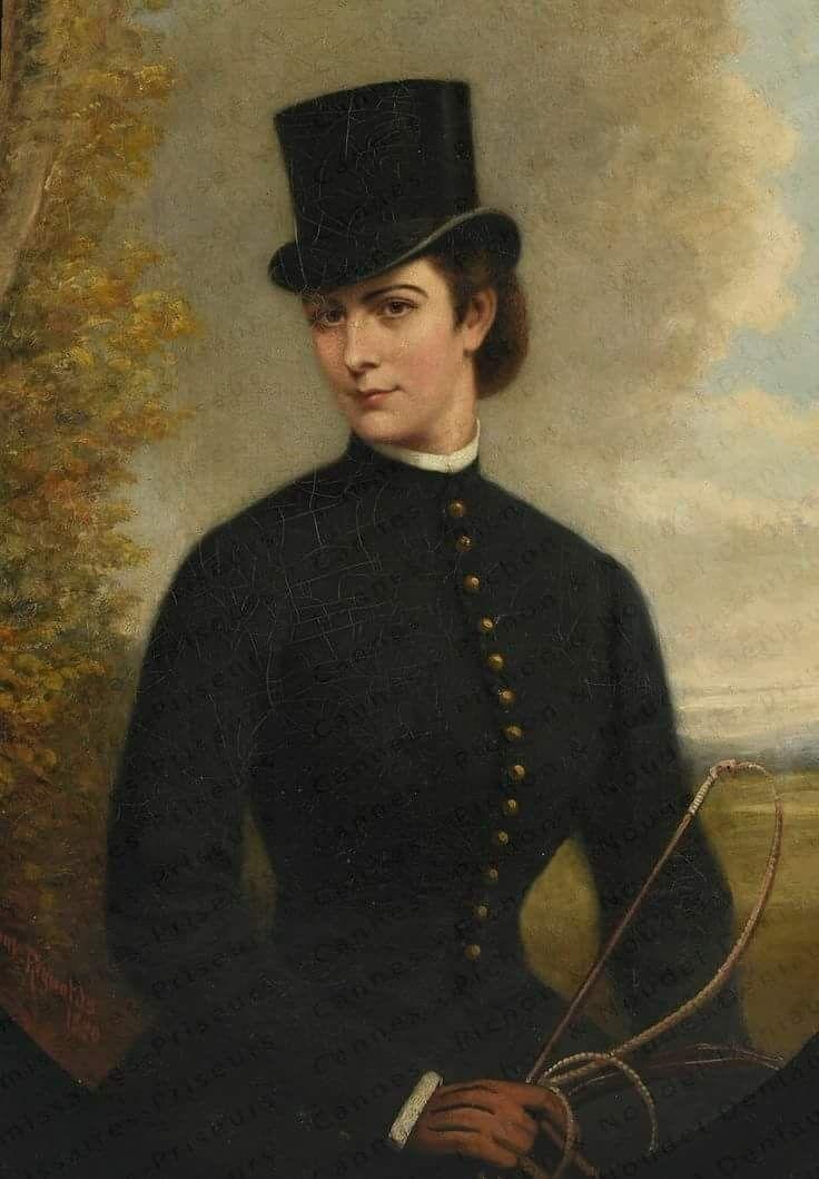Elisabeth in rijkleding