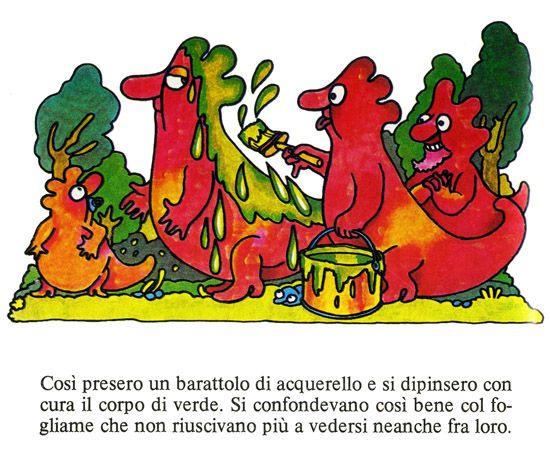 Kamillo Kromo di Altan, un maldestro camaleonte a spasso tra i colori