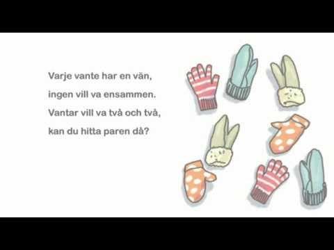 9. Vantarna - ur Små Rim&Ramsor - YouTube