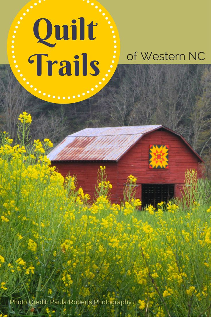The largest concentration of barn quilt blocks in the U.S. is sprinkled through the countryside of western North Carolina where you'll find over 200 quilt squares on nine official quilt trails. Read more about the quilt barn projects -- the largest grassroots public arts movement in history on the NC Bed and Breakfast Inns blog. | ncbbi.org