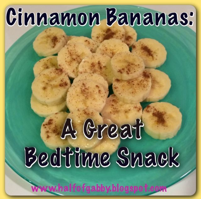Quick, easy, and healthy bedtime snack! | Half of Gabby