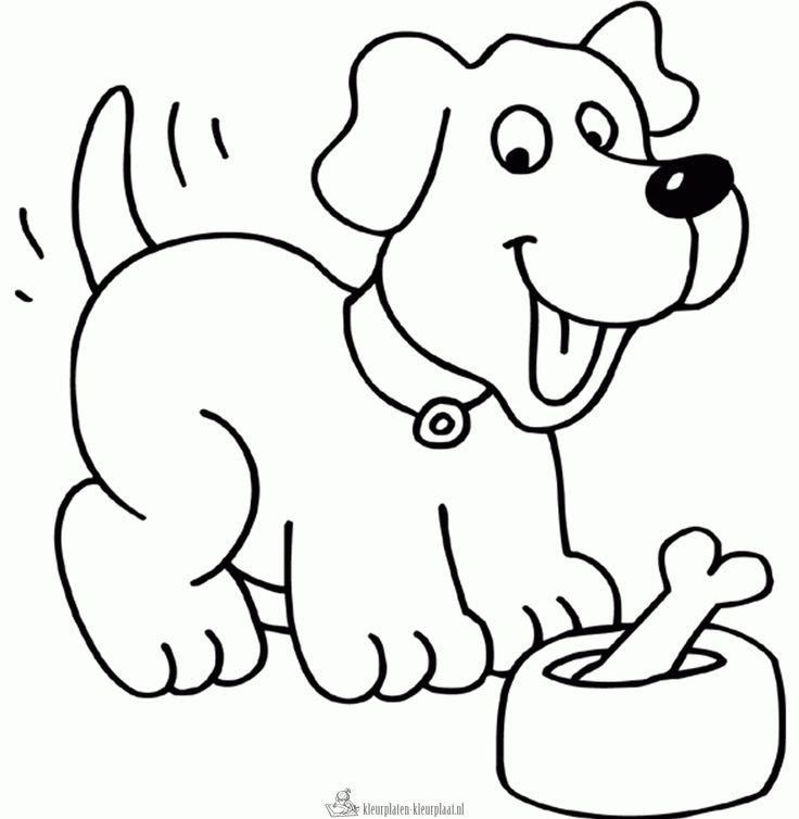 Kleurplaat Hond Darba Lapas Kleurplaten Dieren