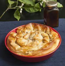 Διακριτική, νόστιμη και πολύ εύκολη η πίτα αυτή θα σας ενθουσιάσει με τη λιτή και υπέροχη γεύση της