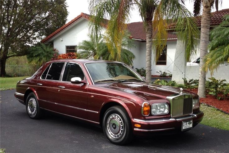 1999 ROLLS-ROYCE SILVER SERAPH 4 DOOR SEDAN - Barrett-Jackson Auction Company - World's Greatest Collector Car Auctions