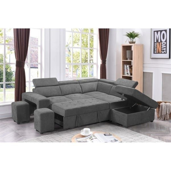 Overstock Com Online Shopping Bedding Furniture Electronics Jewelry Clothing More In 2020 Sectional Sleeper Sofa Grey Sectional Sofa Sectional Sofa
