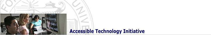 Accessible Technology Initiative (ATI)