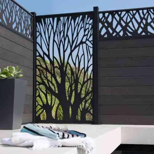 Clôture de jardin pas chère, originale et design -