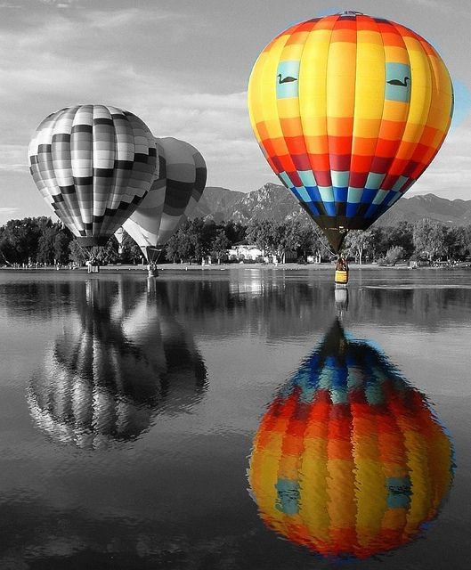 Would love to go on a hot air balloon find this pin and more on black white photography