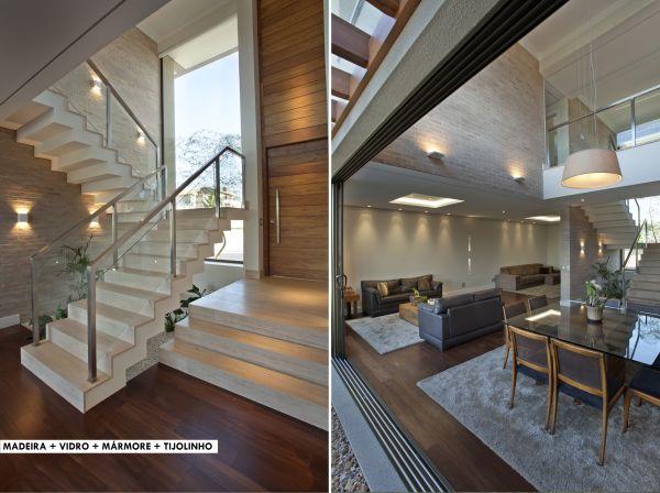 Aeg casa moderna brasilia2 arquitetura pinterest for Casa moderna flooring