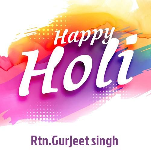Happy Holi Wishes Whatsapp Greeting With Your Name