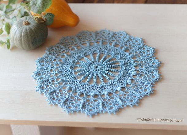 HAZEL* Doilies With a Twist