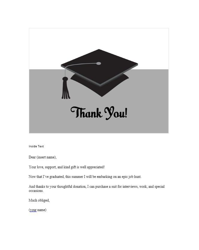 11 Thank You Certificate Templates Free Printable Word Pdf Thank You Card Template Graduation Thank You Cards Printable Thank You Cards