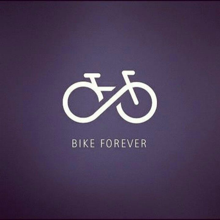 #Bike Forever - cool design. I want this as a tattoo... just the image.