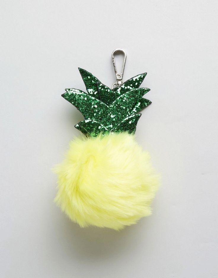 Imagen 2 de Colgante esponjoso para el bolso con diseño de piña de Skinnydip