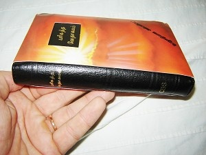 Small Tamil Bible Black Leather Bound / Tamil Old Version OV27Z Lux /  India
