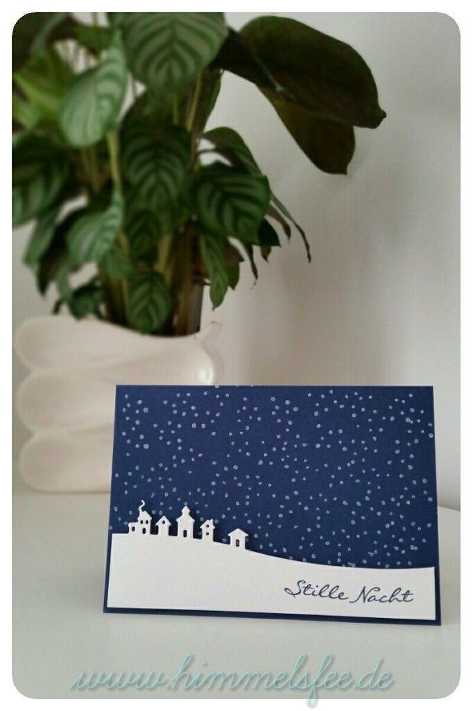 Ber ideen zu weihnachtskarten selber machen auf for Weihnachtskarten pinterest