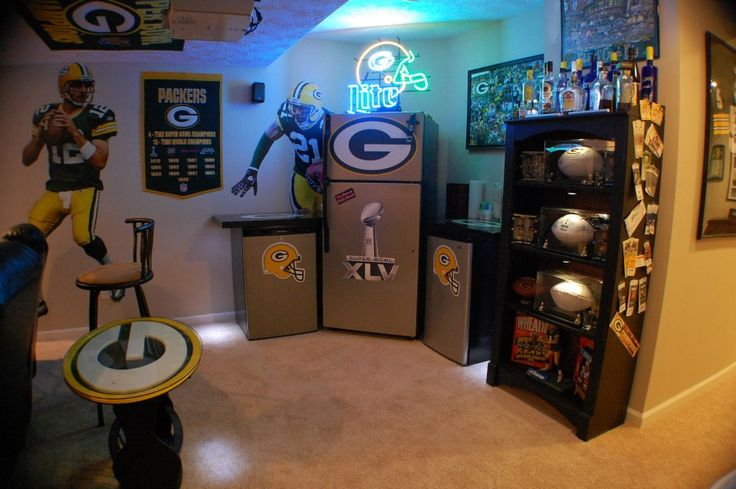 Man Cave For Hire : Best images about sports man caves on pinterest