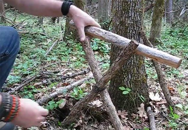 VIDEO: How to Make a Bushcraft Camp Chair | How To Build Your Own Camp Chair, check it out at  survivallife.com/...