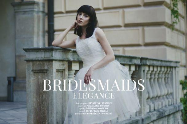 "Katarzyna Kośmider: ""Bridesmaids elegance"" http://www.confashionmag.pl/webitorial/bridesmaids-elegance.html"