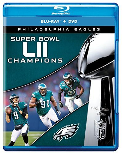 NFL Super Bowl 52 Champions COMBO [Blu-ray] - The most anticipated game of the NFL season is the Super Bowl. This year the game will be played in Minneapolis at the new home of the Vikings, the U.S. Bank Stadium. This is the second Super Bowl in Minneapolis, which previously hosted Super Bowl XXVI in 1992. The game will be televised in the U...