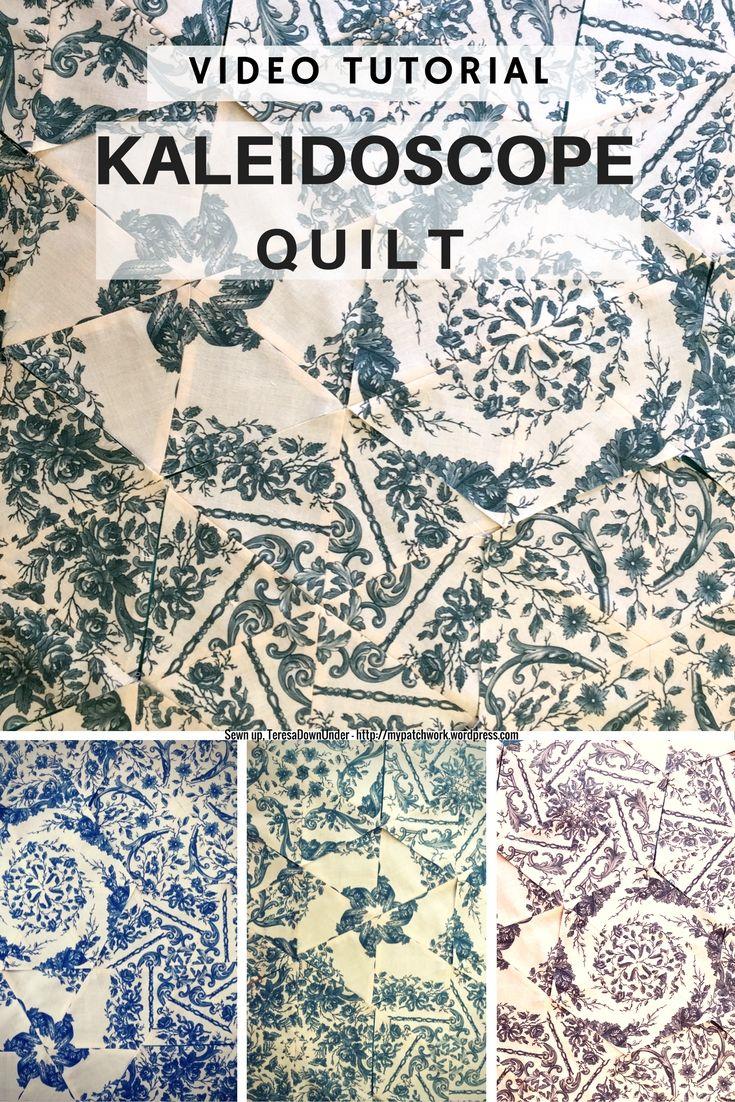 25 Best Ideas About Kaleidoscope Quilt On Pinterest