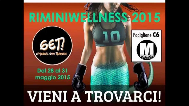 GET! Gymball Evo Training - Presenter Daniela Polizzi - Riminiwellness 2015
