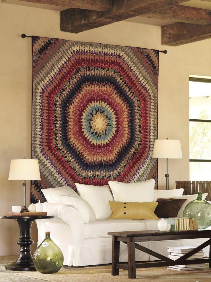 Best 25 quilt display ideas on pinterest quilting room - Display living room decorating ideas ...