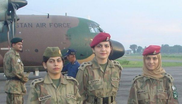 Girls in Pakistan Army | Armed Forces Hospitals.
