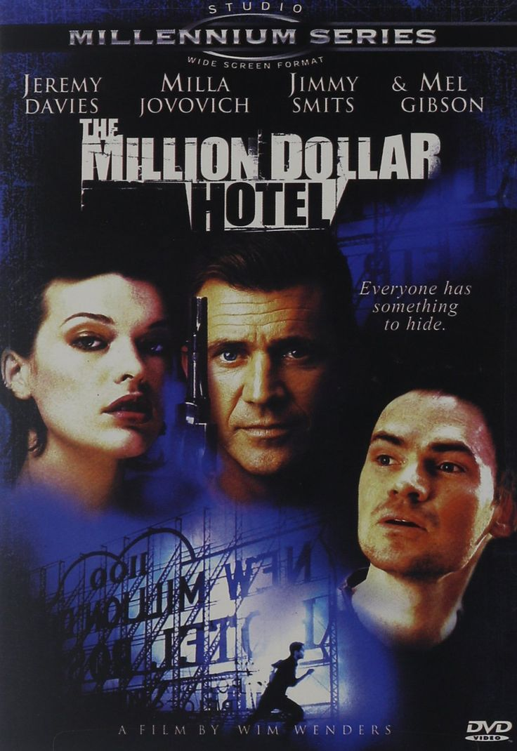 Wim Wenders's THE MILLION DOLLAR HOTEL is a well-filmed movie set in a majestic, dilapidated hotel on the outskirts of Hollywood. The opener shows Tom Tom (Jeremy Davies), the eccentric, slightly reta