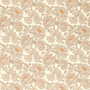 Tamara Floral Copper Wallpaper