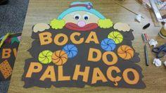 Barraca  festa junina  boca do palhaço