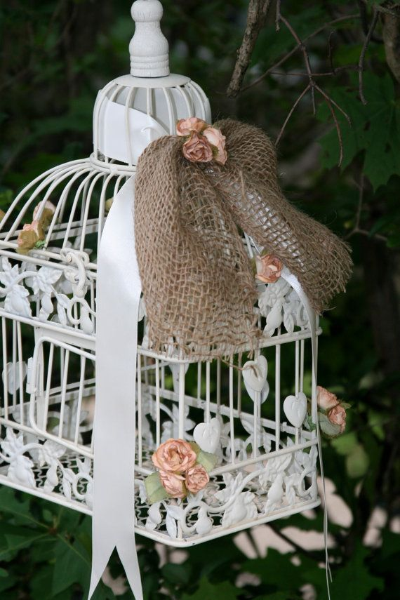 Decorative Antique Vintage Bird Cages Cards and by CuteCraftDecor, $32.00
