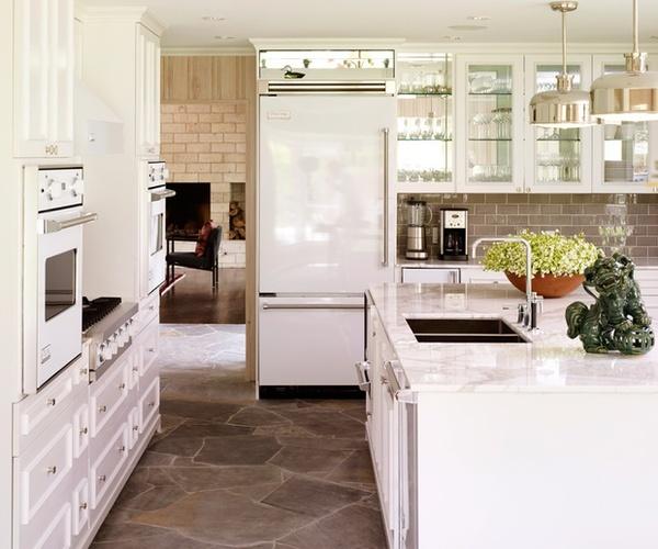 Kitchen Cabinets White Appliances