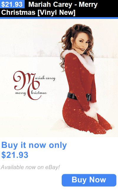 Christmas Songs And Album: Mariah Carey - Merry Christmas [Vinyl New] BUY IT NOW ONLY: $21.93