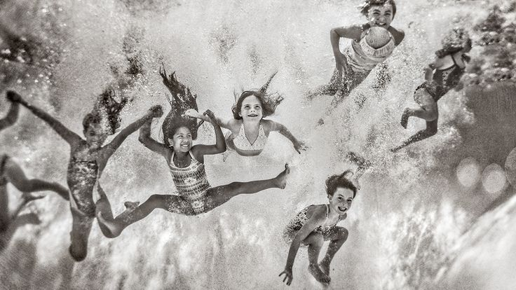 This Mom's Unique Photo Series of Her Daughters Is Just the Best via Brit + Co.