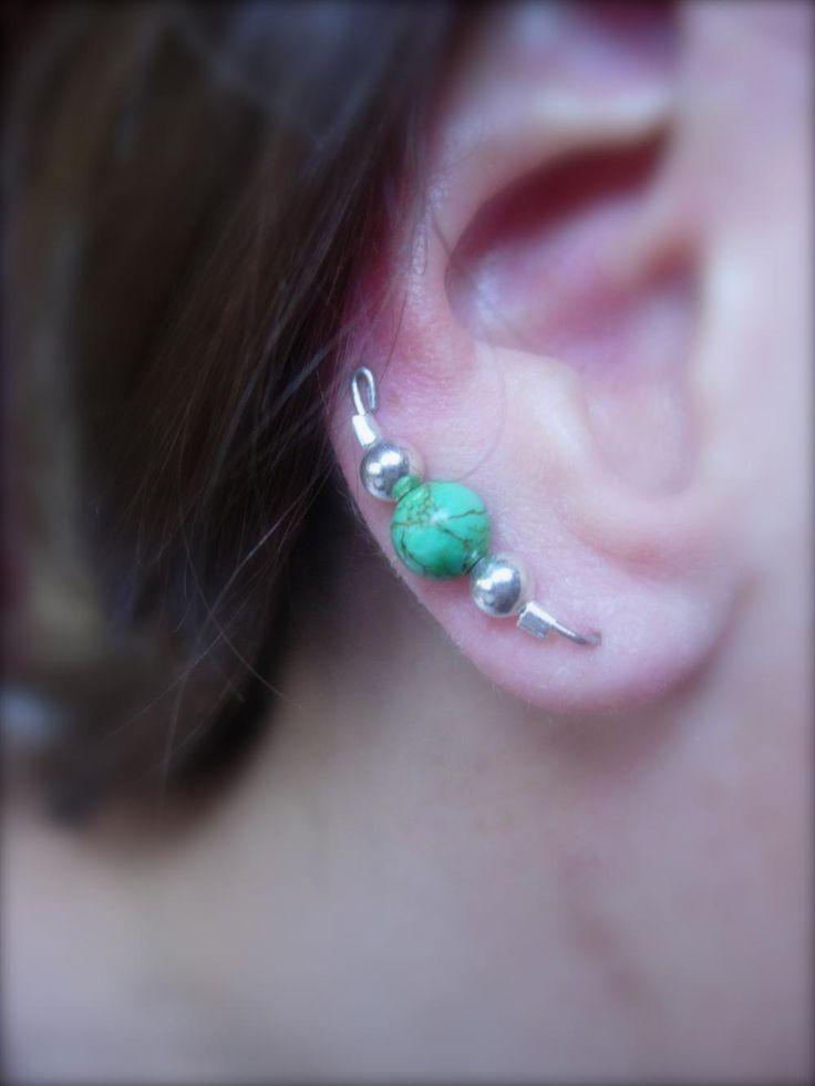 Ear Pins, Ear Climbers, Ear Sweeps, Clip On, or Pierced Earrings